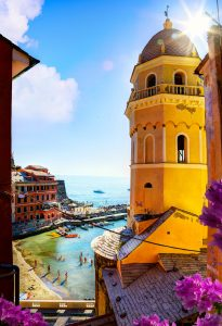 Vernazza Bell Tower Jigsaw Puzzle
