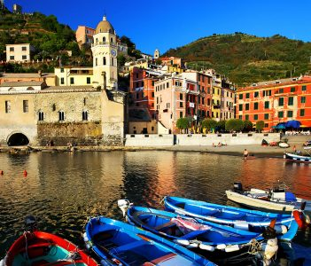 Vernazza Boats Jigsaw Puzzle
