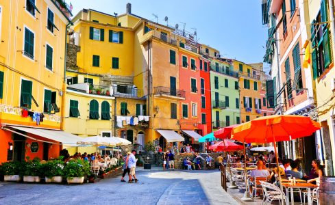 Vernazza Colors Jigsaw Puzzle