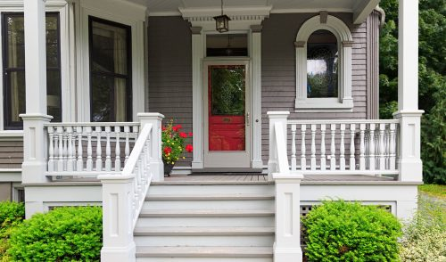 Victorian Front Porch Jigsaw Puzzle