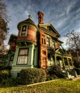 Victorian House Jigsaw Puzzle