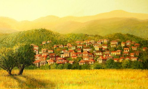 Village in the Hills Jigsaw Puzzle