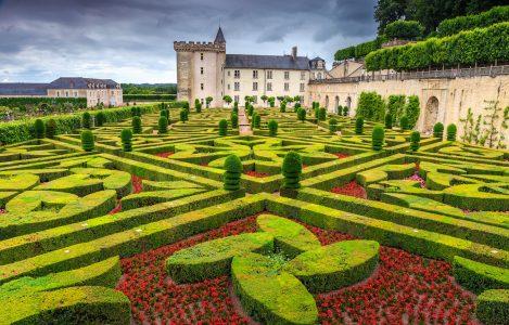 Villandry Castle Jigsaw Puzzle