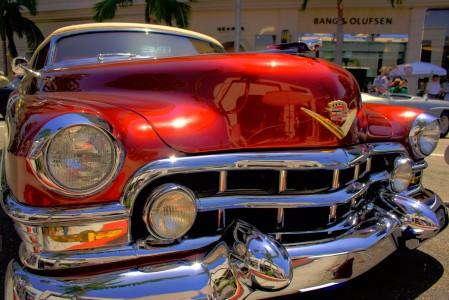 Vintage Cadillac Jigsaw Puzzle