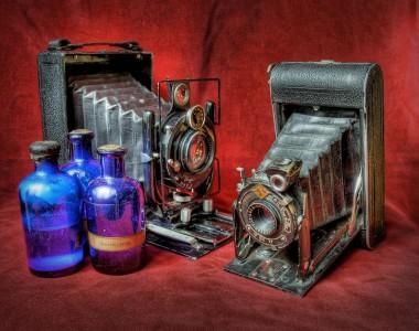 Vintage Cameras Jigsaw Puzzle