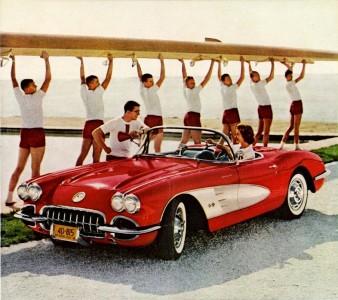 Vintage Corvette Jigsaw Puzzle