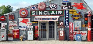 Vintage Gas Signs