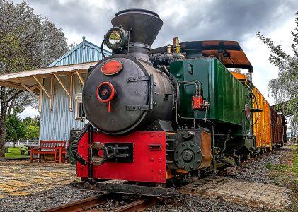 Vintage Locomotive Jigsaw Puzzle