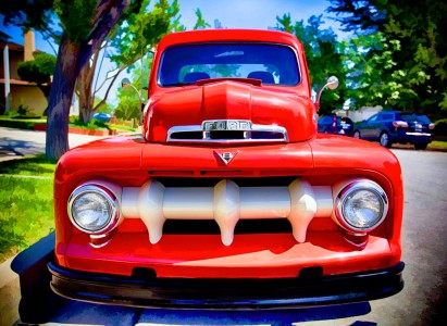 Vintage Pickup Jigsaw Puzzle