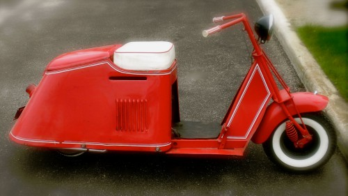 Vintage Scooter Jigsaw Puzzle
