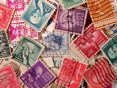 Vintage Stamps Jigsaw Puzzle