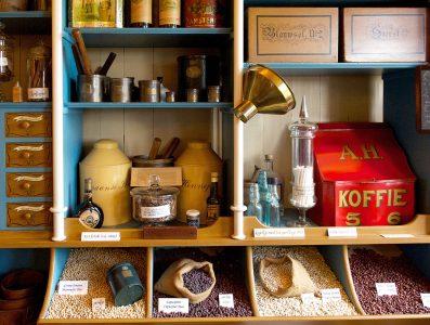 Vintage Store Shelves Jigsaw Puzzle