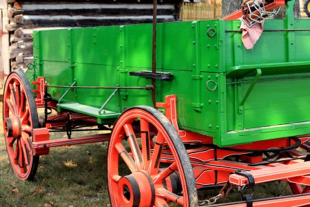 Vintage Wagon Jigsaw Puzzle