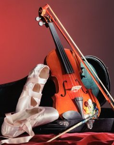 Violin and Ballet Shoes Jigsaw Puzzle