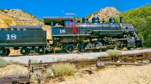 Virginia and Truckee Railroad Jigsaw Puzzle