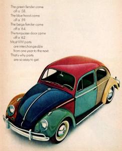 Volkswagen Beetle Jigsaw Puzzle