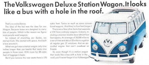 Volkswagen Microbus Jigsaw Puzzle