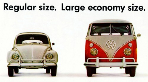 Volkswagen Sizes Jigsaw Puzzle