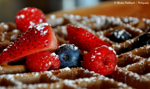 Waffles and Berries Jigsaw Puzzle