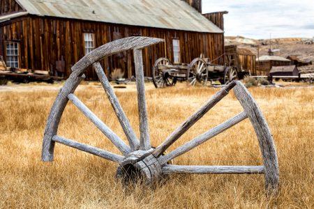 Wagon Wheel Jigsaw Puzzle