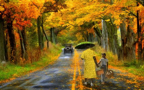 Walking Home Jigsaw Puzzle