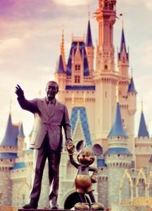 Walt Disney and Mickey Jigsaw Puzzle