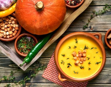 Warm Pumpkin Soup Jigsaw Puzzle