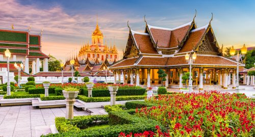 Wat Ratchanatdaram Jigsaw Puzzle