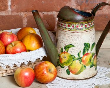 Watering Can and Apples Jigsaw Puzzle