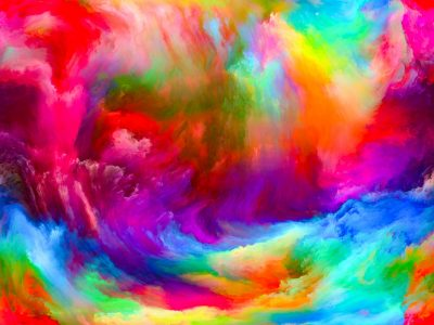 Waves of Color Jigsaw Puzzle