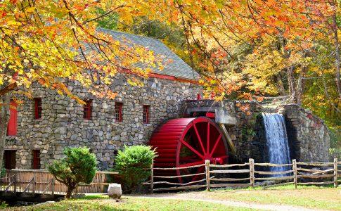 Wayside Inn Mill Jigsaw Puzzle
