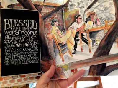 Weird People Jigsaw Puzzle