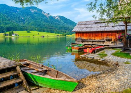 Weissensee Lake Jigsaw Puzzle
