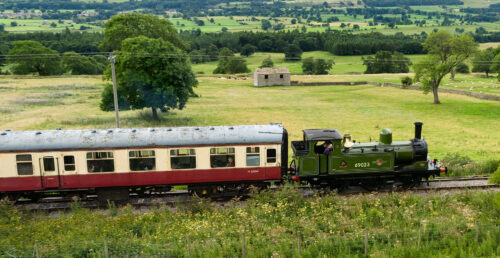 Wensleydale Train Jigsaw Puzzle