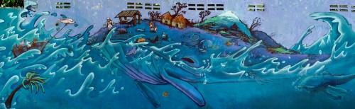 Whale Mural Jigsaw Puzzle
