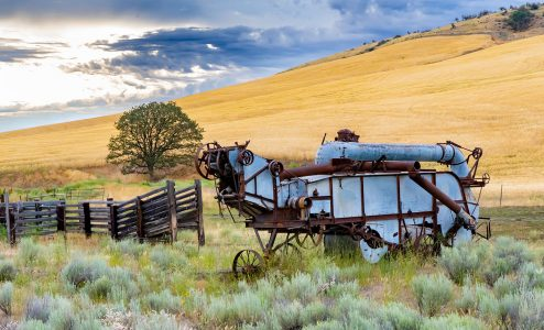 Wheat Combine Jigsaw Puzzle