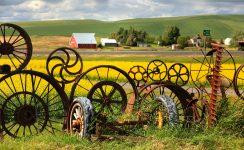Wheel Rim Fence