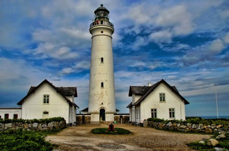 White Lighthouse Jigsaw Puzzle