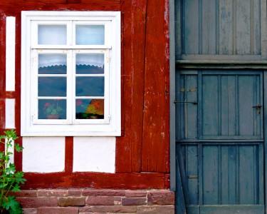 White Window Jigsaw Puzzle