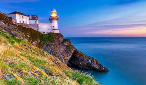 Wicklow Lighthouse Jigsaw Puzzle