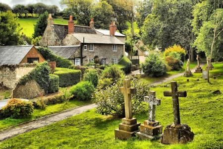 Wight Churchyard Jigsaw Puzzle