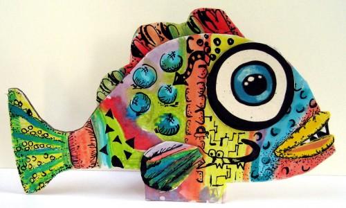 Wild Eyed Fish Jigsaw Puzzle