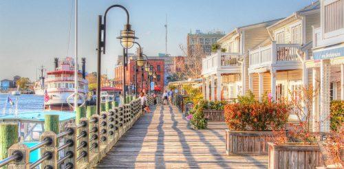 Wilmington Riverwalk Jigsaw Puzzle