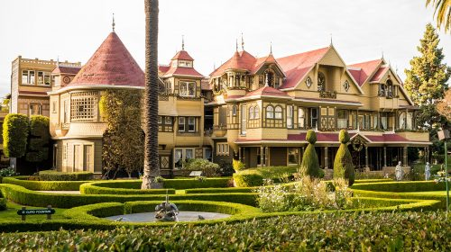 Winchester Mystery House Jigsaw Puzzle