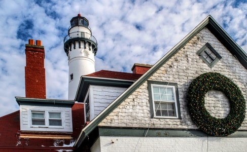 Wind Point Lighthouse Jigsaw Puzzle