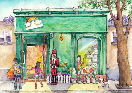 Window Shopping Jigsaw Puzzle
