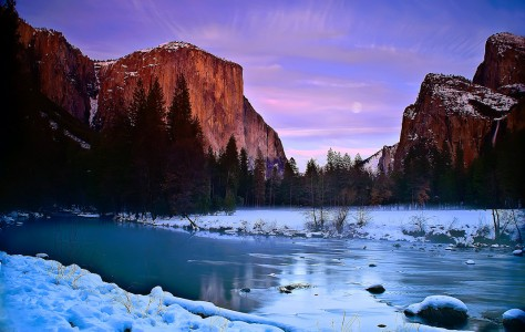 Winter in Yosemite Jigsaw Puzzle