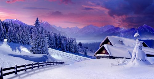 Winter Snow Jigsaw Puzzle