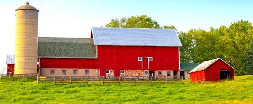 Wisconsin Barn Jigsaw Puzzle