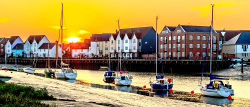 Wivenhoe Sunset Jigsaw Puzzle